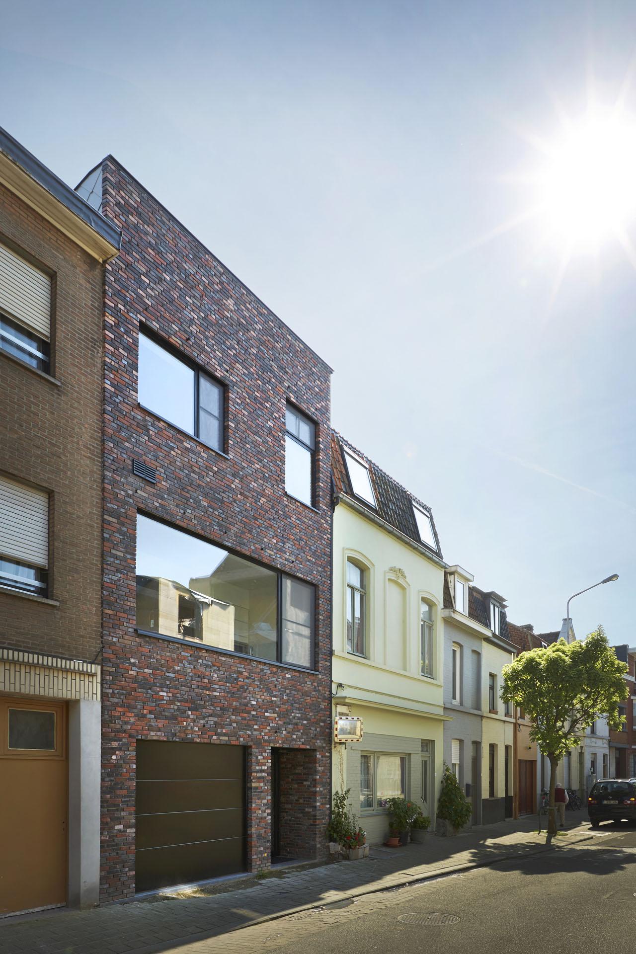 Nieuwbouwwoning Pluimstraat Kortrijk