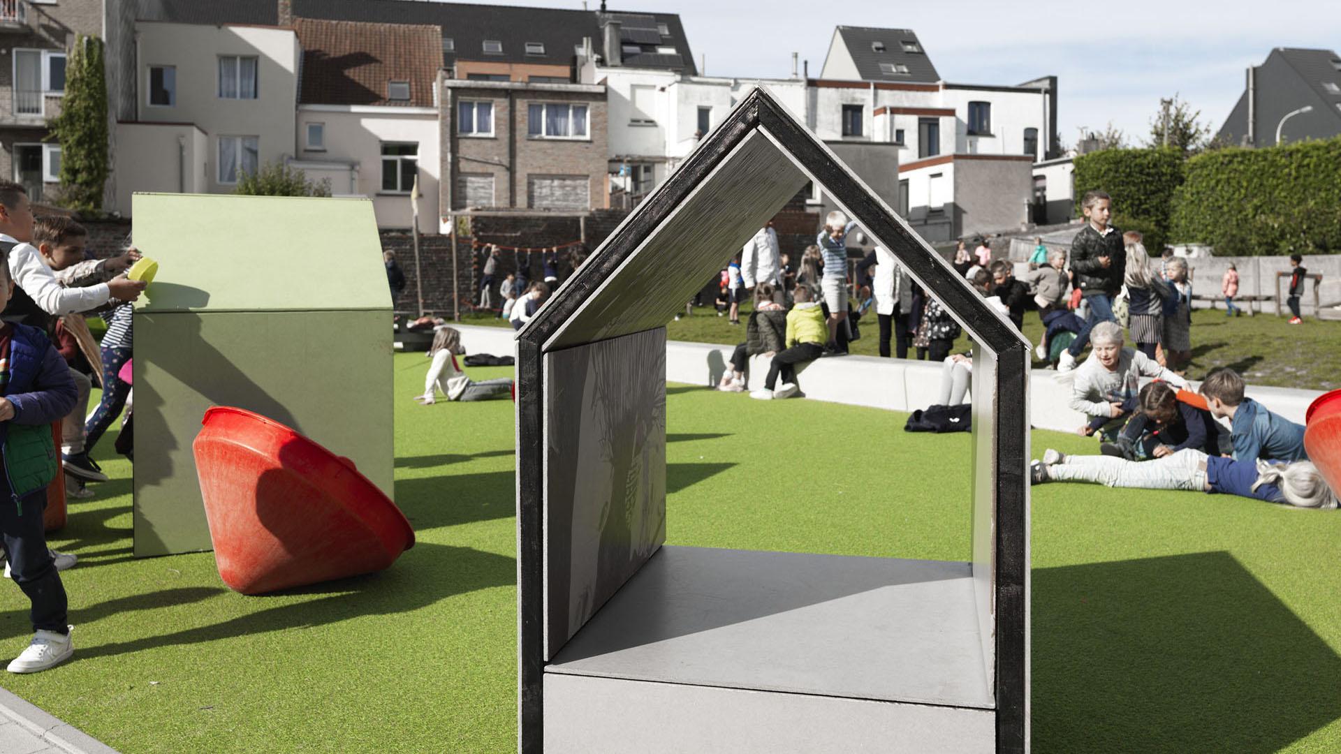 Zandschool Blankenberge AVDK Architecten