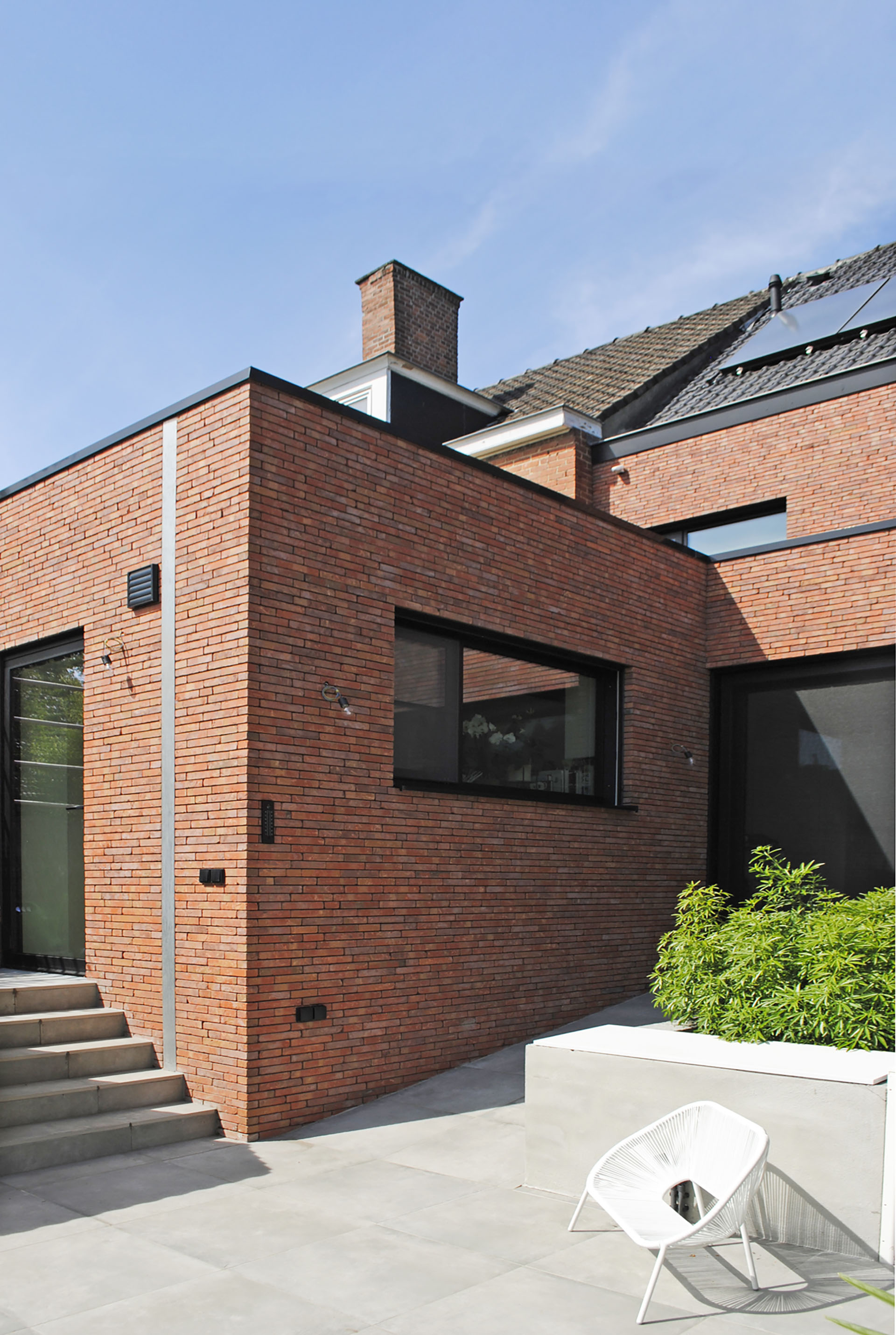 Nieuwbouwwoning Kortrijk AVDK Architecten