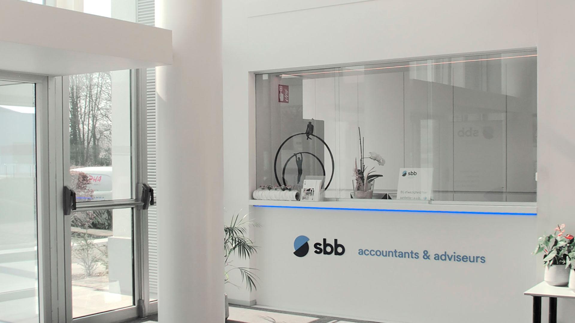 Kantoren SBB Accountants & Adviseurs Roeselare AVDK Architecten