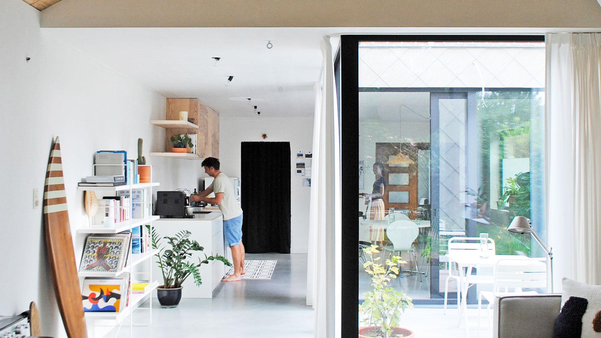 Rennovatie en aanbouw woning Gent AVDK Architecten