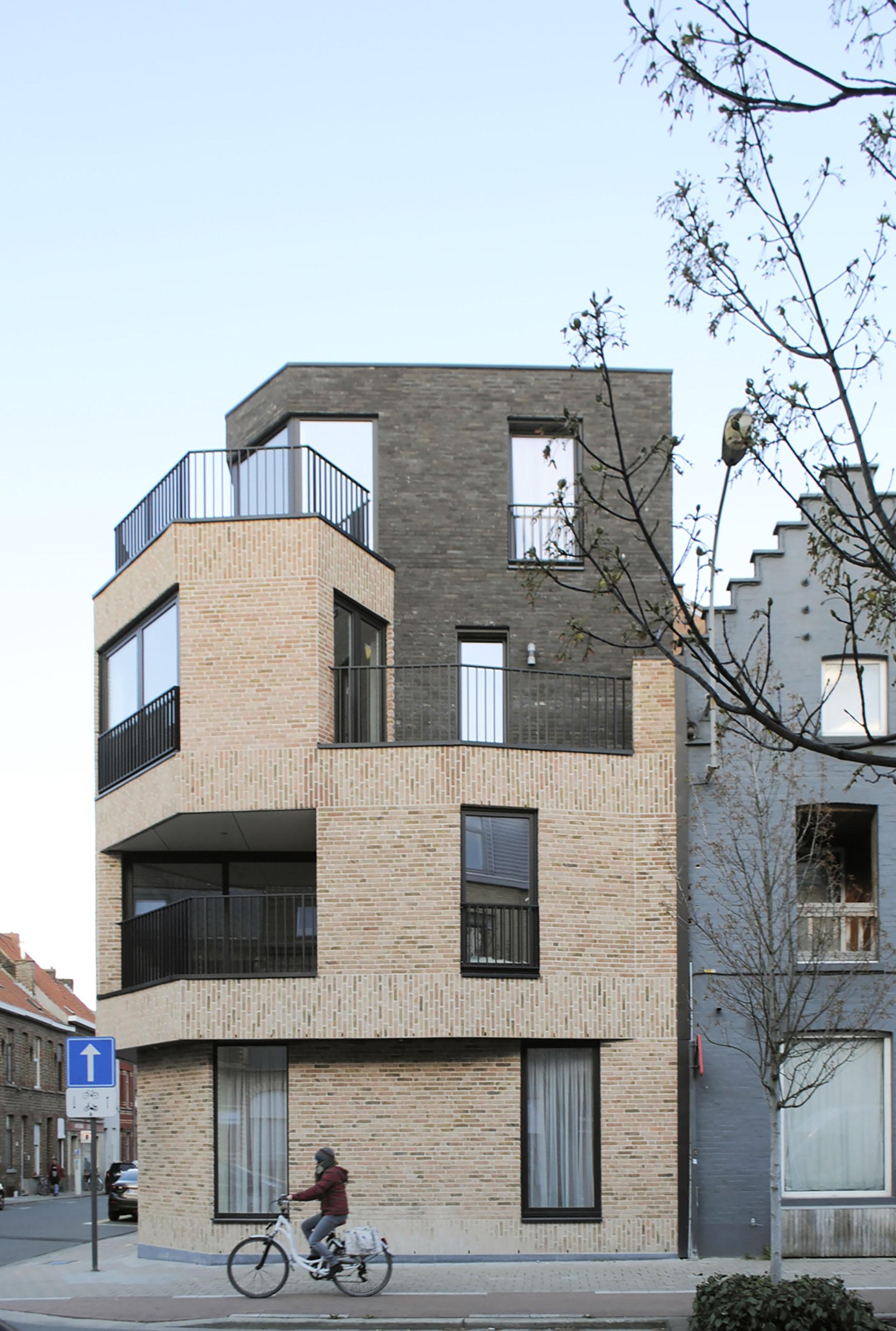Appartementen Rekollettenstraat Kortrijk