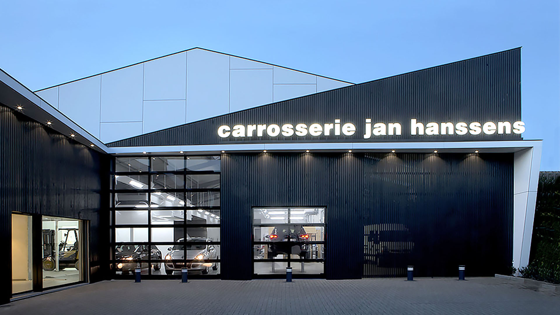 Carrosserie Jan Hanssens Gullegem AVDK Architecten