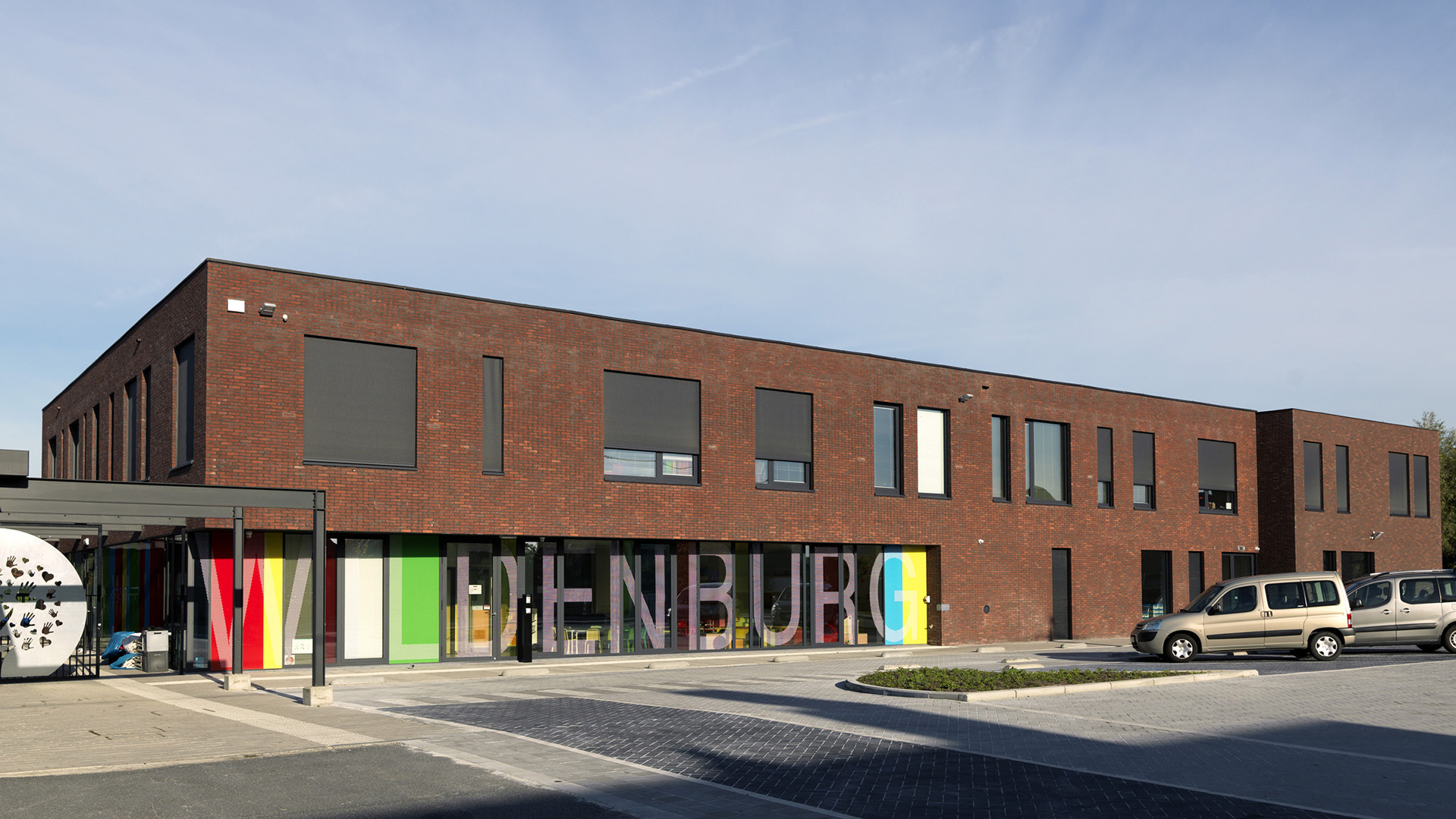School SVM Wildenburg Wingene AVDK Architecten