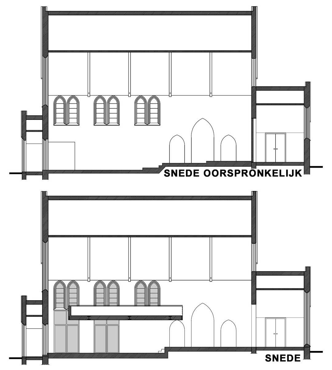 Snedes renovatie Karmel Brugge AVDK Architecten