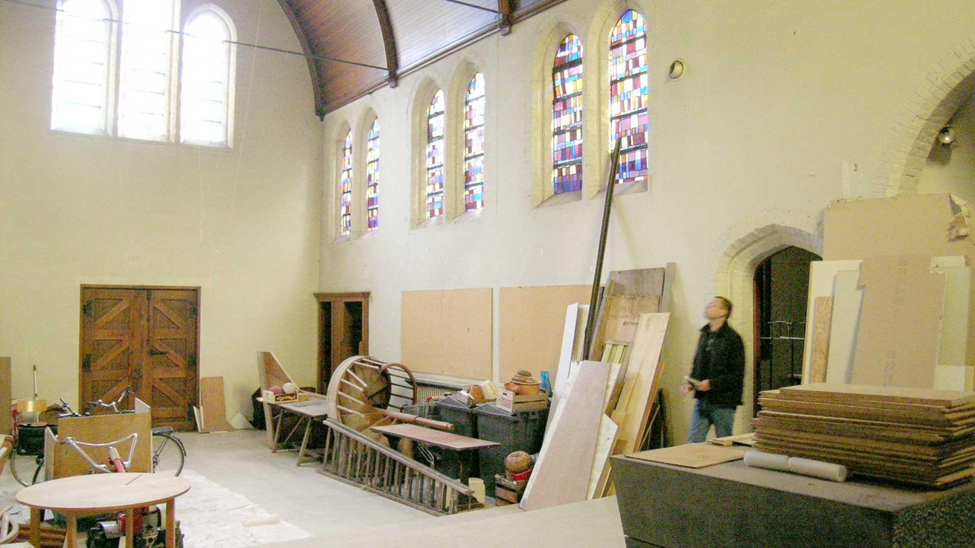 Karmel bestaande situatie Brugge AVDK Architecten