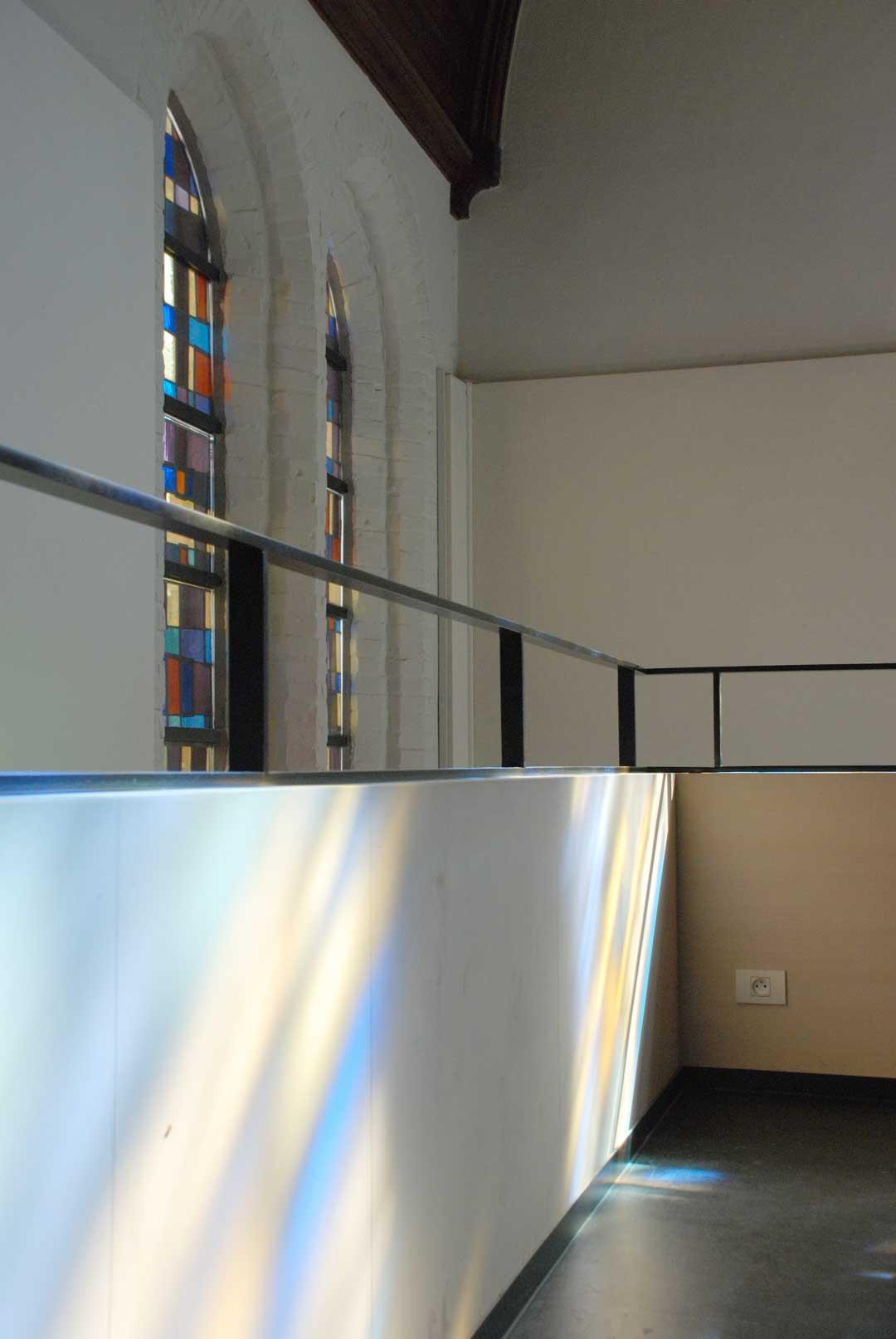 Kleurenspel renovatie Karmel Brugge AVDK Architecten