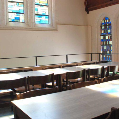 Bovenverdieping renovatie Karmel Brugge AVDK Architecten