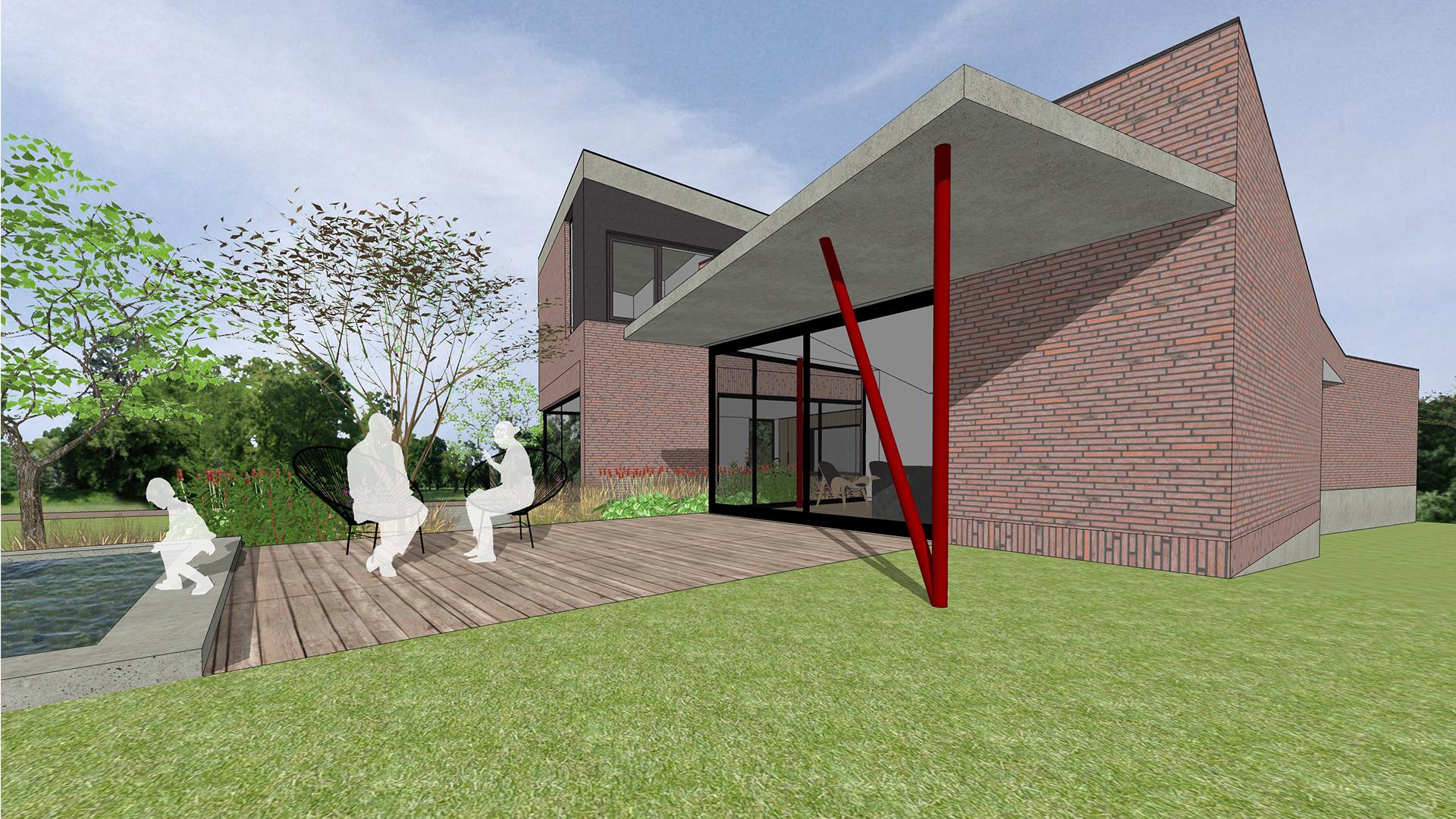 Nieuwbouwwoning Munkendoornstraat Kortrijk