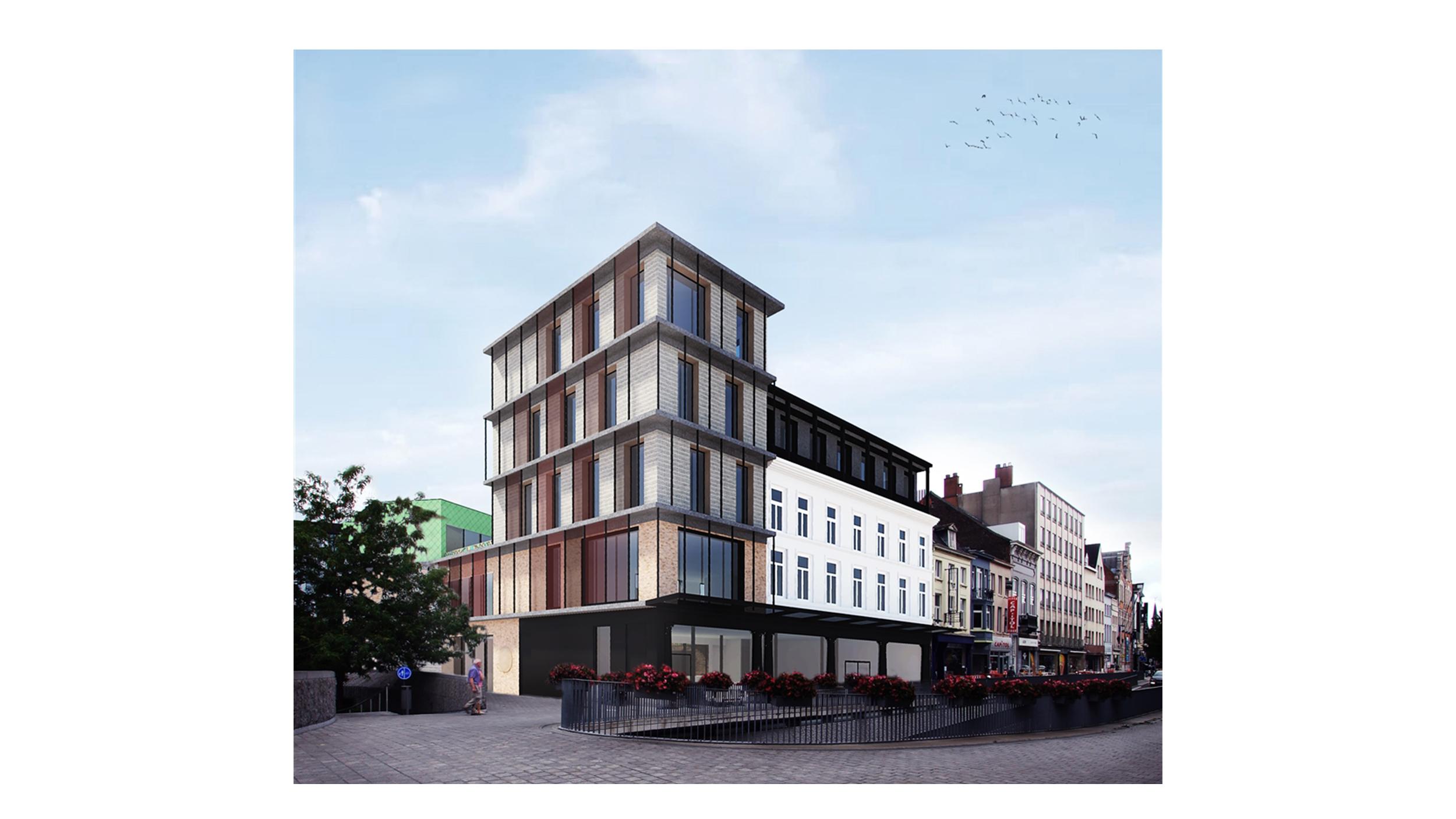 OCMW Volksrestaurant Kortrijk - Avdk Architecten