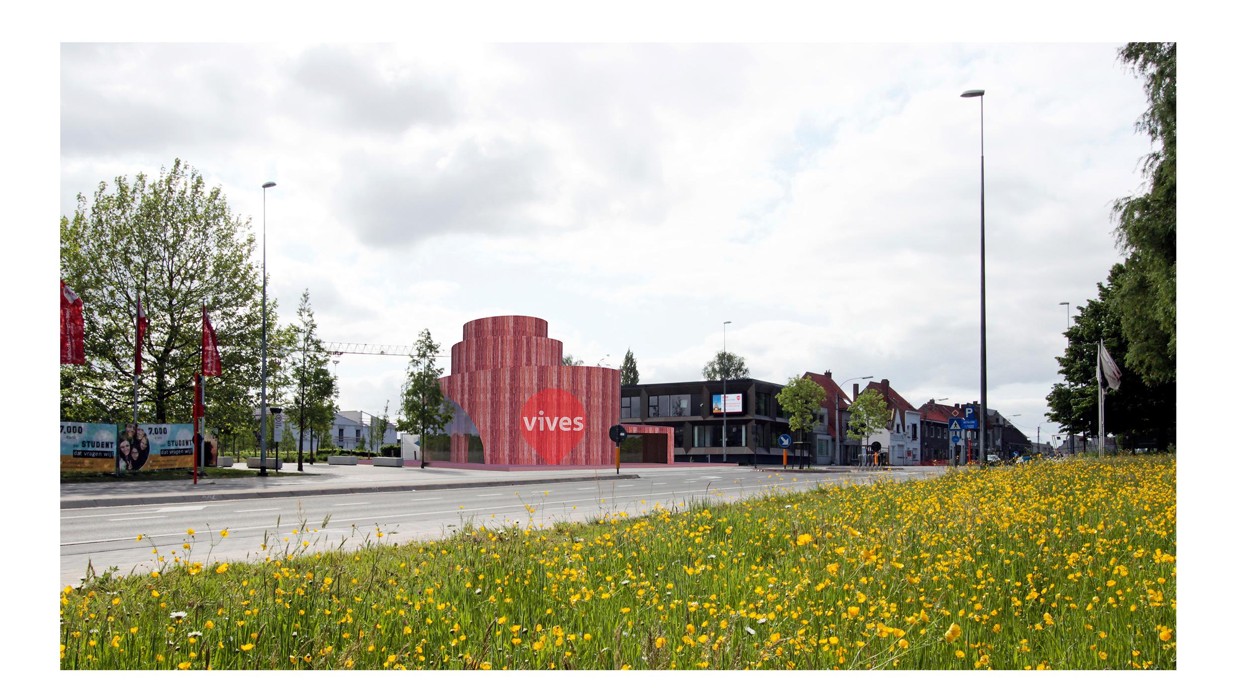Vives Inkompaviljoen Kortrijk - Avdk Architecten